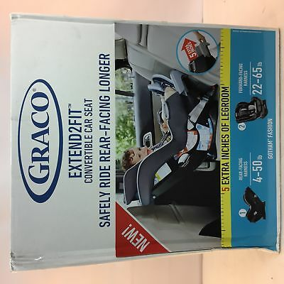 Graco Extend2Fit Convertible Car Seat - Gotham Fashion