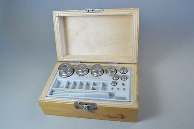 Vintage Scales Weights Minuature Set Boxed