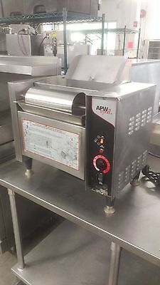 APW Conveyor toaster with butter roller, M-2000, 208v