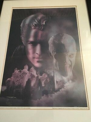 Limited Edition Print Of Spike From Buffy The Vampire Slayer 422/500 World Wide