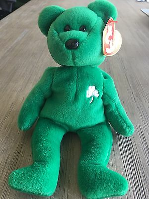 6ca44186edb Ty Beanie Baby Babies 1997 ERIN The Bear outlet store sale 004e4 41f0c ...