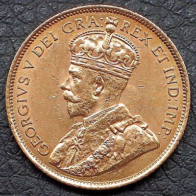 "1912 Canada 5 Dollars Gold Coin - 0.2419 Oz. gold  ""MS""  KM#: 26"