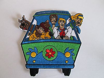 Scooby Doo & The Gang Mystery Machine Embroidered Patch ~Usa Seller~New
