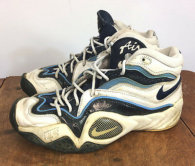 a64cf5bb318 Original Vintage 90s Nike Air Flight Turbulence Basketball Shoes 11 OG