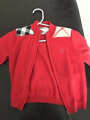 Toddler Burberry Sweater