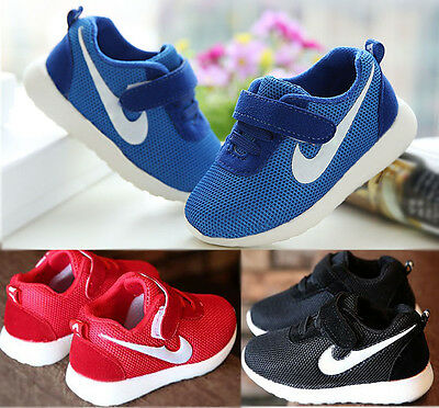 Baby Toddler Boys Girls Sports Running Shoes Kid Infant Train Casual Shoes US5-8