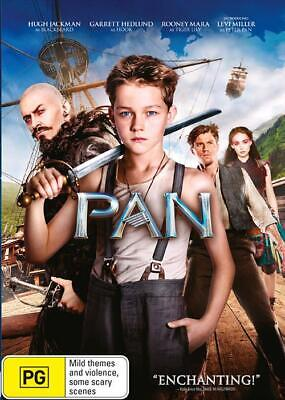 Pan (DVD, 2015) VGC Pre-owned (D112)