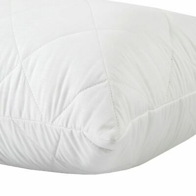 100% Cotton Quilted Filling Pillowcase Cover Pillow Protector Standard 48x 73