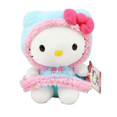 "Hello Kitty Eskimo Soft Plush Toy 6"" Cute Huggable Pal Stuffed Girl Toy"
