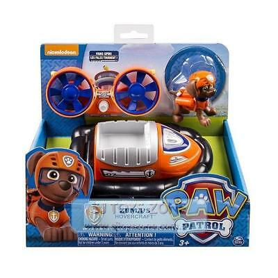 Paw Patrol Deluxe Hovercraft Vehicle with Sounds - Zuma Figure Kids Toy