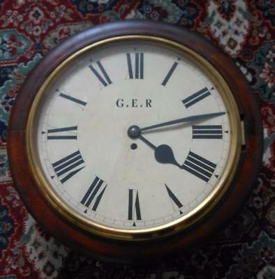 16 inch fusee dial railway clock