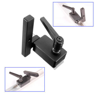Miter Track Stop for T-Slot T-Tracks Woodworking Tool