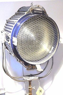Hollywood Antique Film Light Rko Radio Pictures Studio Spot Lamp Film 10K Large