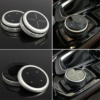 New Replacement Bigger ABS Plastic Multimedia Knob Cover For BMW F33 F34 F10