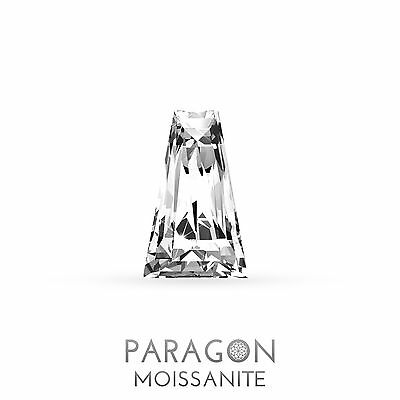 Paragon Moissanite Loose Trapezoid Cut Best Diamond + C&C, Alternative, Buy Now!