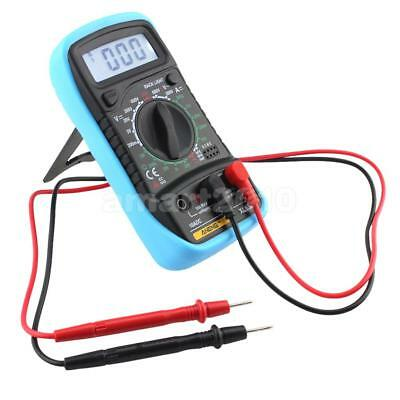 Digital Multimeter XL-830L Volts Ohms Amps Transistor test with Leads