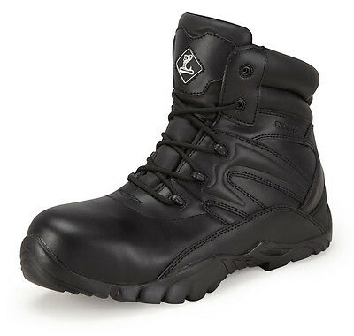 Cobra Safety Leather Tactical Ankle Boot,Work, Police, Ambulance,Like Magnum