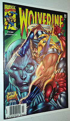 Wolverine #154, NEWSSTAND, Deadpool App (2000, Marvel)
