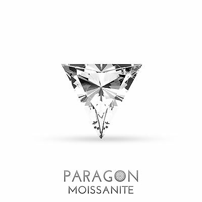 Paragon Moissanite Loose Triangle Cut Best Diamond Alternative, Buy Now !