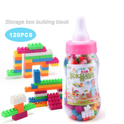 120PCS Kids Toy Building Blocks Montessori Therapy Fine Motor Toy For Toddlers