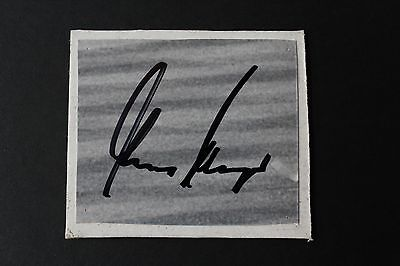 Garry Player Hand Signed Signature Card