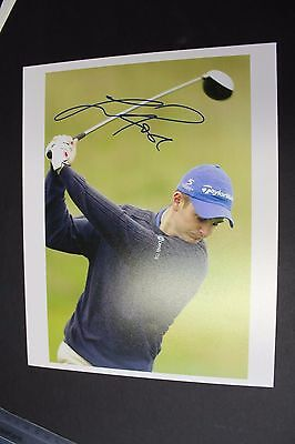 Justin Rose Hand Signed Colour Photo