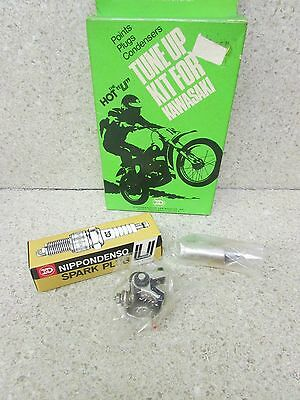 Nos 73 74 75 Kawasaki F11 250 Hot U Tune Up Kit Points Condenser Plug
