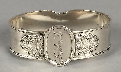 Jacob Tostrup Norway Sterling 830 Silver Napkin Ring 2x1-5/16x11/16 18.8g 142