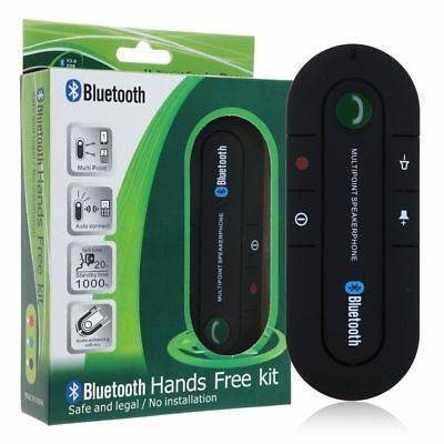 Wireless Bluetooth HandsFree Speaker Car Kit Clip Visor for Mobile Smart Phones