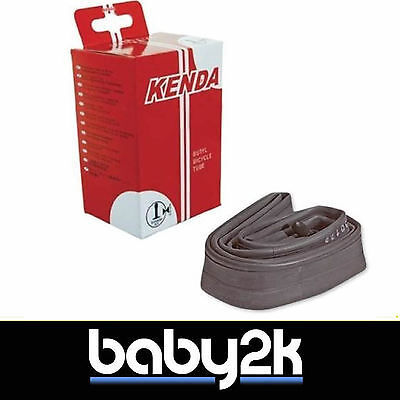 Kenda Pram Pushchair Bike Tyre Inner Tube 12-1/2x1.75/2.1 90D Straight Valve BN