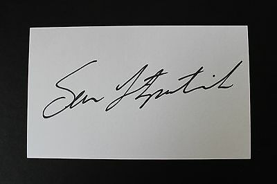 Sean Fitzgerald Hand Signed Signature