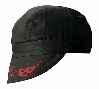 Revco REVCO - BC5W-BK Armor Cotton Welding Cap 100% Cotton Double Layer Protect