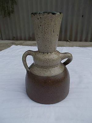 Vase Ceramique Anthropomorphe Accolay Style Precolombien Ceramic French 50 60 70