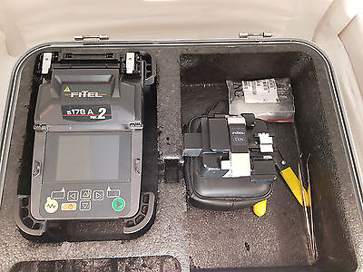 Fitel-S178A Version-2 optic Fiber Fusion Splicer SM-MM-Kit-W-S326-Cleaver