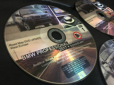 bmw road map europe professional 2017 ccc