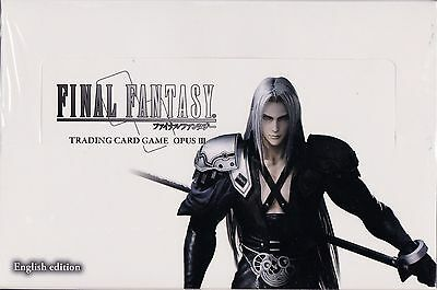 Final Fantasy Trading Card Game Opus III (Opus 3)  box 36 packs of 12 cards