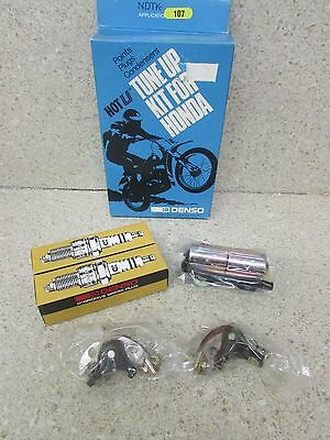 Nos Honda Cb450 Cl450 450 Cb500T Hot U Tune Up Kit Points Condensers Spark Plugs