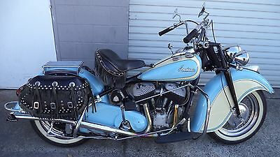 INDIAN Chief 1947, restored, a real classic