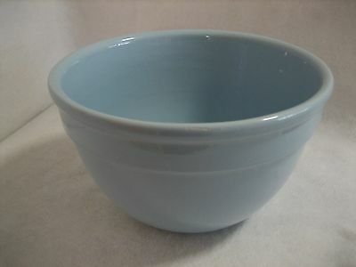 Blue Fowler Pottery Mixing Bowl - Large Size No. 9