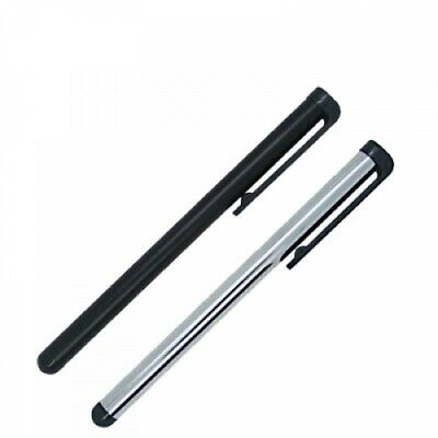 2X Stylus Pen Silver Black for Phones