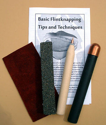 Medium Copper Bopper Knap Pack - Tools for Flint Knapping Arrowheads and Blades