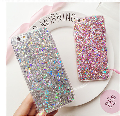 Luxury Bling Glitter Soft Silicone Case Cover For Samsung Galaxy S7 / S7 Edge