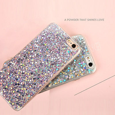For Samsung Galaxy S8 /S8 Plus Bling Glitter Shockproof Soft Silicone Case Cover