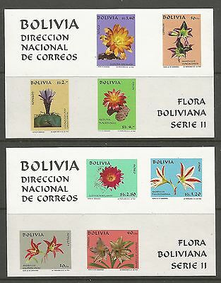 BOLIVIA. 1971. Bolivian Flora Miniature Sheets. SG: MS902. Mint Never Hinged