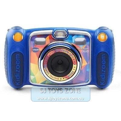 VTech Kidizoom Duo Digital Camera 2.4 Inch Coloured LCD Screen for Kids - Blue
