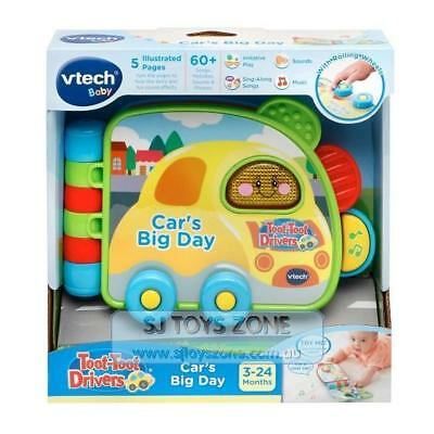 VTech Baby Toot-Toot Drivers Car's Big Day Book Learning Toy for Little Kids