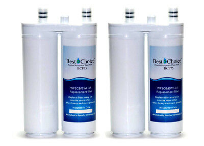 2-Pack Refrigerator Water Filter Fits Frigidaire Electrolux WF2CB EWF-01 MB-100