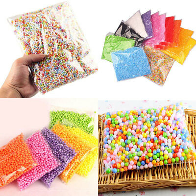 Styrofoam Filler Plastic Foam Mini Beads Ball DIY Assorted Colors Craft
