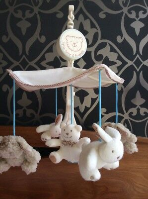 Baby Mobile with puppy, bunnies & bear.  Perfect Condition. Glen Iris Vic