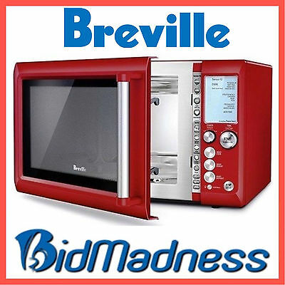 New Breville Bmo735Crn 34L 1100W Stainless Steel Microwave Autocook 10 Pwr Level